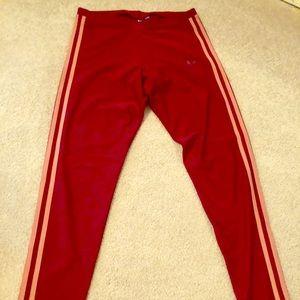 NWOT Adidas 3 Stripe Lycra Leggings